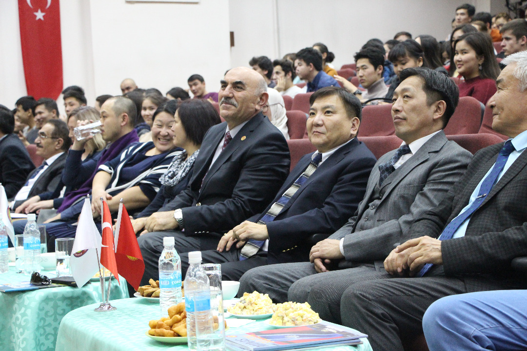 """Day of Mongolia in the """"Manas"""" University"""